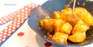 Receta de patatas bravas