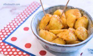 Recetas de Patatas Bravas Tropical Flavour
