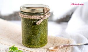 Receta de Pesto de cilantro