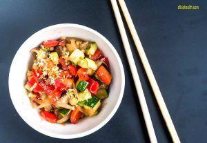 Receta de Curry Verde Thai de Verduras