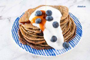 Receta de pancakes de platano