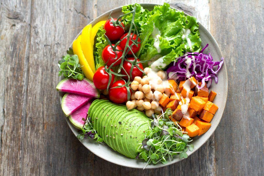 Verdura y fruta fresca para reforzar el sistema inmunitario
